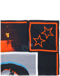 Écharpe à étoiles noire Givenchy