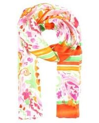 Écharpe à fleurs rose Ralph Lauren