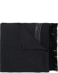 Écharpe á pois noir Dolce & Gabbana