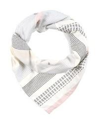 Écharpe à rayures horizontales blanche s.Oliver