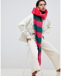 Écharpe à rayures horizontales multicolore ASOS DESIGN