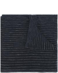 Écharpe à rayures verticales bleu marine Isabel Marant