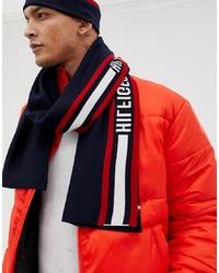 Écharpe blanc et rouge et bleu marine Tommy Hilfiger