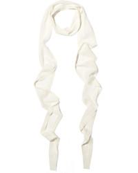 Écharpe blanche Balenciaga