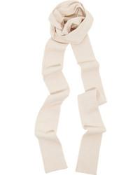 Écharpe blanche Marc Jacobs