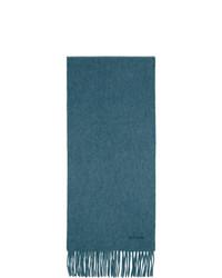 Écharpe bleu canard Paul Smith