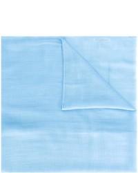 Écharpe bleu clair Salvatore Ferragamo