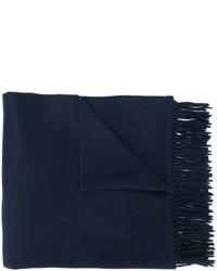Écharpe bleu marine Max Mara