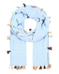 Écharpe bleue claire Becksöndergaard