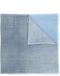 Écharpe bleue claire Faliero Sarti