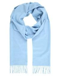 Écharpe bleue claire Max Mara