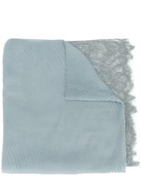 Écharpe bleue claire Valentino