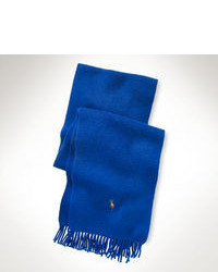 Écharpe bleue