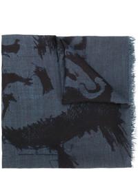 Écharpe bleue Diesel