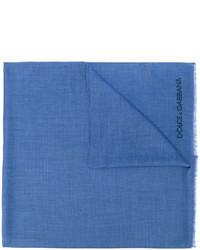 Écharpe bleue Dolce & Gabbana
