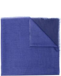 Écharpe bleue Lanvin