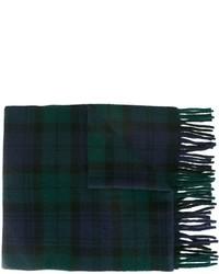 Écharpe écossais bleu marine Polo Ralph Lauren
