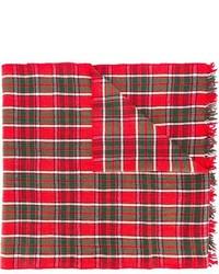 Écharpe écossais rouge Polo Ralph Lauren