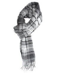 Écharpe écossaise grise Glen Lossie