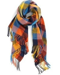 Écharpe écossaise multicolore