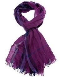 Écharpe écossaise violette Burberry