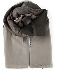 Écharpe en coton grise