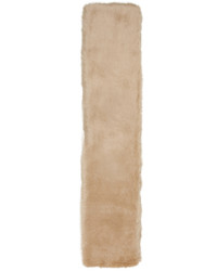 Écharpe en fourrure marron clair Carven