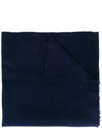 Écharpe en laine bleu marine Closed