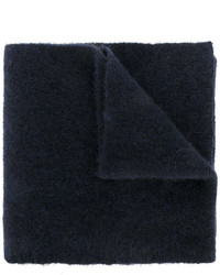 Écharpe en laine bleu marine Roberto Collina