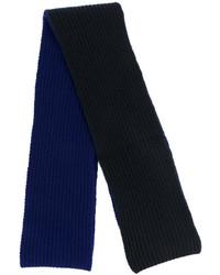 Écharpe en laine bleue marine Marni