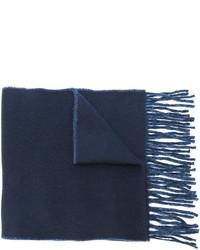 Écharpe en laine bleue marine Polo Ralph Lauren