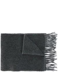 Écharpe en laine gris foncé Polo Ralph Lauren