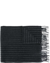 Écharpe en laine grise foncée Polo Ralph Lauren