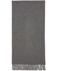 Écharpe en laine grise Acne Studios