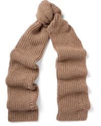 Écharpe en laine marron clair J.W.Anderson