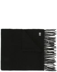 Écharpe en laine noire AMI Alexandre Mattiussi
