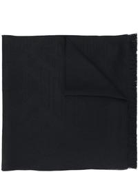 Écharpe en laine noire Emporio Armani