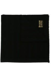 Écharpe en laine noire Golden Goose Deluxe Brand