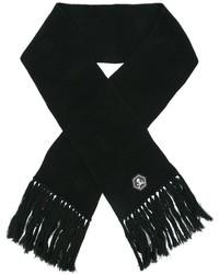 Écharpe en laine noire Philipp Plein