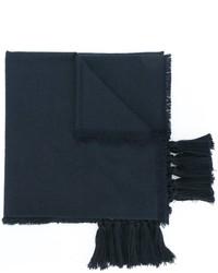 Écharpe en soie bleu marine Chloé