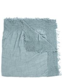 Écharpe en soie bleue claire Faliero Sarti