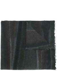 Écharpe en soie gris foncé Faliero Sarti