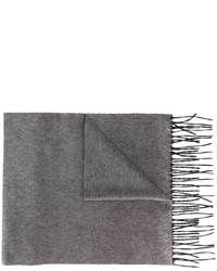 Écharpe en soie grise DSQUARED2