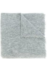 Écharpe en soie grise Faliero Sarti
