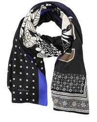 Écharpe en soie noire