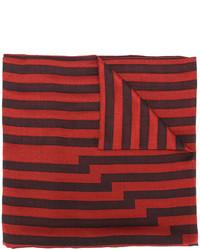 Écharpe en soie rouge Etro