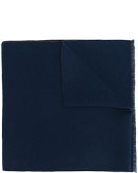 Écharpe en tricot bleu marine Gucci