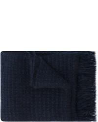 Écharpe en tricot bleu marine Stella McCartney