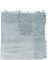 Écharpe en tricot bleue claire Faliero Sarti