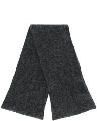 Écharpe en tricot grise foncée Roberto Collina
